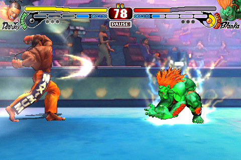 Cammy y Zangief llegan a Street Fighter para iPhone/iPod Touch 4