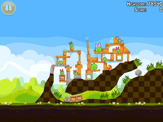 La próxima actualización de Angry Birds será conmemorativa a la pascua 3