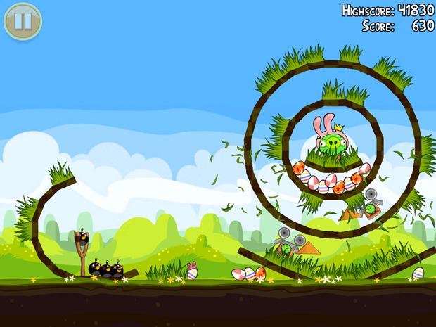 La próxima actualización de Angry Birds será conmemorativa a la pascua 4