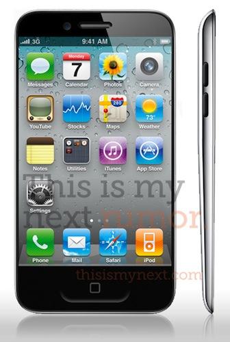 Rumor: iPhone 5 con pantalla de 3.7 pulgadas y delgadez extrema 2