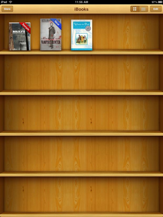iBooks 1.5 con opción de lectura nocturna 4