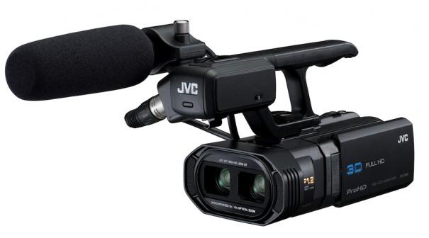 JVC lanza su primera cámara ProHD-3D la GY-HMZ1 1
