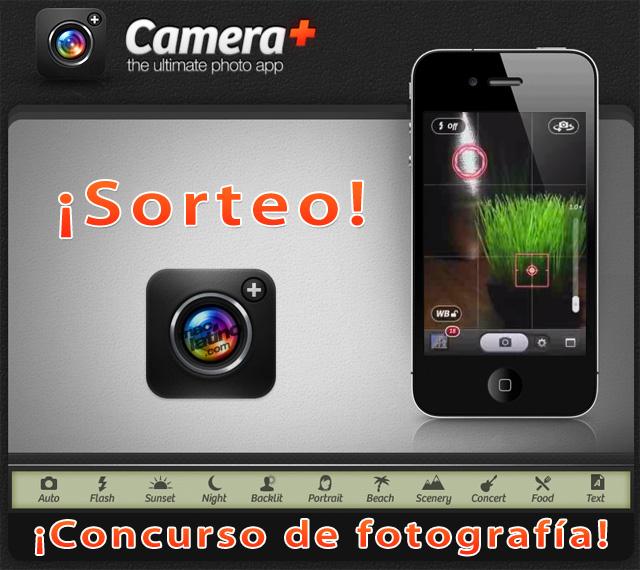 Camera+ gratis en concurso de fotografías con iPhone 1
