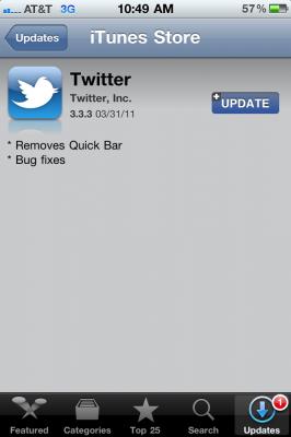 Twitter para iPhone se actualiza a la versión 3.0.2 y llega en español 5