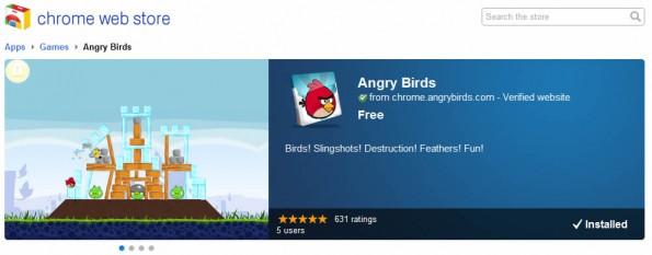 Angry Birds se podrá jugar desde Google Chrome 8