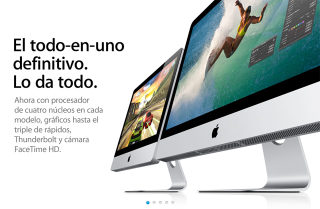Los nuevos iMac con procesadores Sandy Bridge y tecnología Thunderbolt, podrían llegar pronto 7