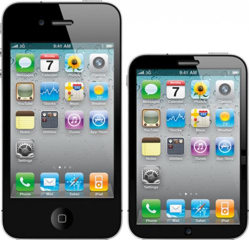 Desde France Telecom afirman que el iPhone será más pequeño que sus anteriores versiones