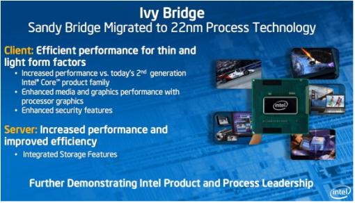 Intel podría ser el nuevo fabricante de procesadores, para los productos iOS 6