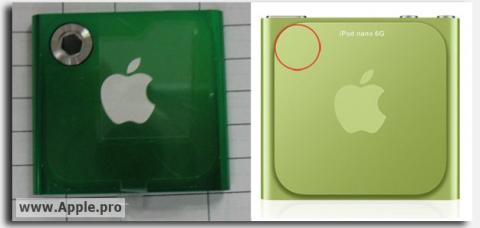 Rumor: la cámara regresa al iPod Nano 1