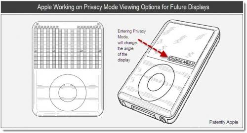 Nueva patente de Apple muestra una pantalla configurable para ofrecernos privacidad 1