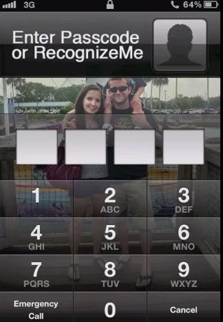 Desbloquea la pantalla de tu iPhone a través de reconocimiento facial 7