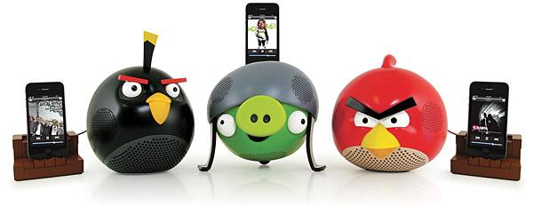 Altavoces con diseños de Angry birds 1