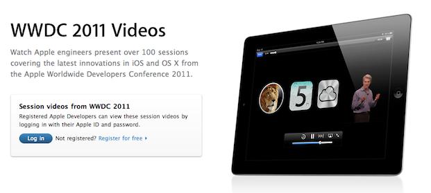 Apple publica vídeos de las sesiones de la WWDC 2011 1