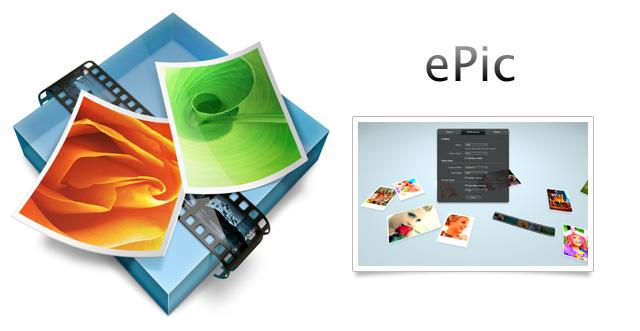 Una manera distinta de ver tus fotografías con ePic para Mac OS X 2