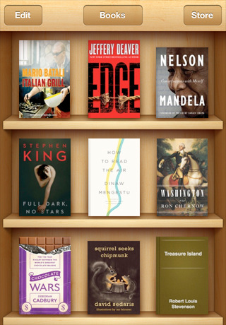 iBooks se actualiza a la versión 1.2 5