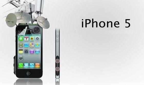 Infografía que muestra las posibles novedades del iPhone 5 en sus rumores 2