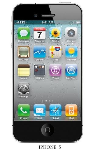 Rumor: El iPhone 5 seria lanzado en agosto 1