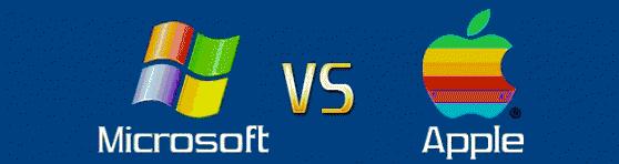 Infografía: La historia de Microsoft vs Apple 2