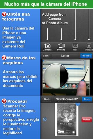 Escanea documentos con tu iPhone 1