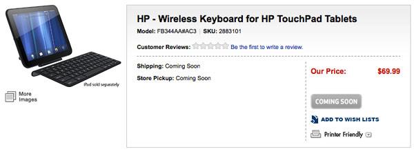 Best Buy confunde el iPad con el TouchPad de HP 1