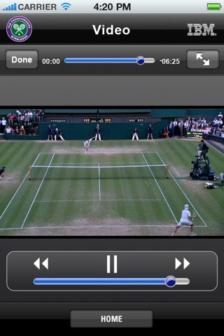¿Te gusta el tenis? Descarga la aplicación oficial de Wimbledon 2011 1
