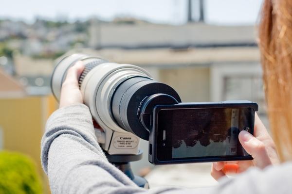 Convierte tu iPhone en una potente cámara Réflex 2