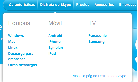 Skype 1.3 para iPhone y iPod touch 4