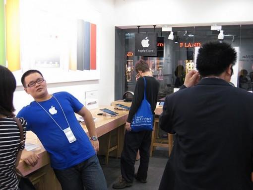 En China abren una Apple Store falsa 2