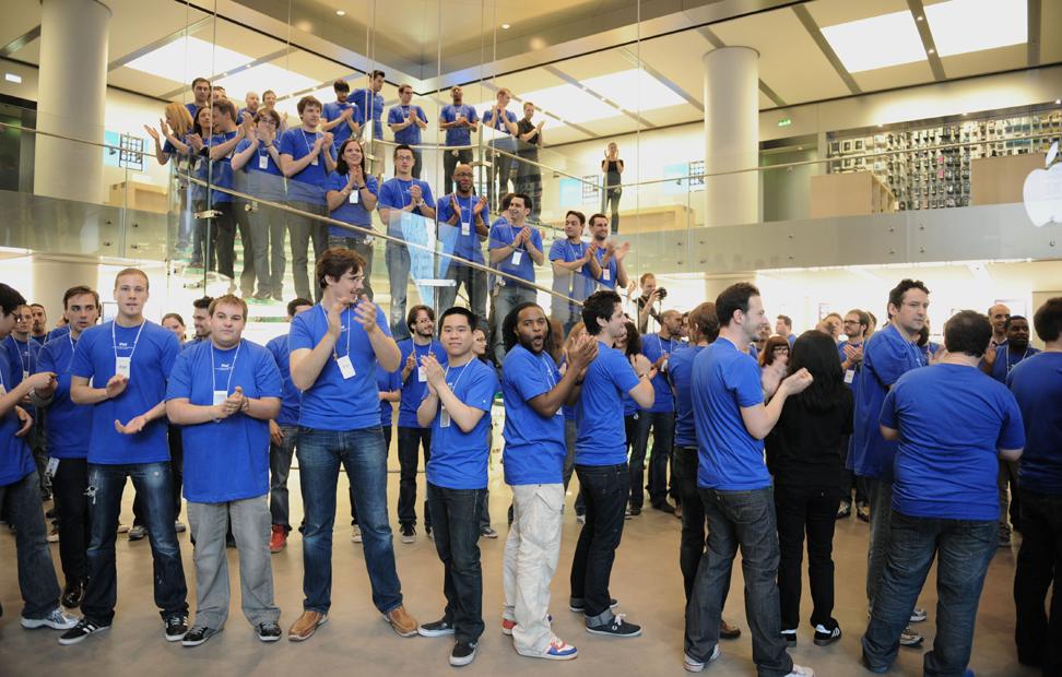 US Uncut organiza protestas ante algunas Apple Store, este 4 de junio 2