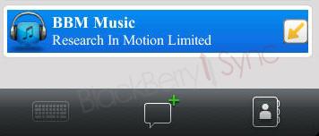 RIM entra en la onda de las redes sociales con BBM Music 1