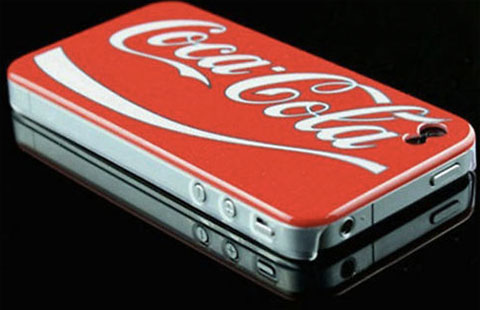 Carcasa de Coca-Cola para nuestro iPhone 1