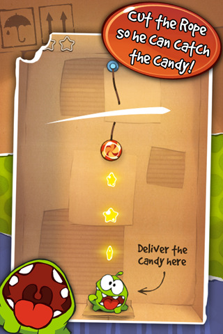Cut The Rope se actualiza a la versión 1.4 9