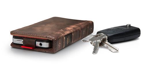 BookBook, elegante estuche de cuero para iPhone 1