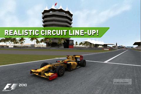 F1 2010 disponible para iOS 1