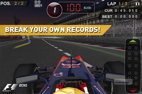 F1 2010 disponible para iOS 3