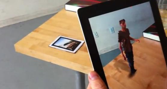 Kinect y el iPad 2 hacen que la Realidad Aumentada se aproximé a Star Wars