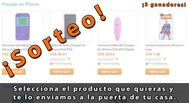 Sorteo 1 - Tu escoges el producto Mac, iPhone o iPad y te lo regalamos 2
