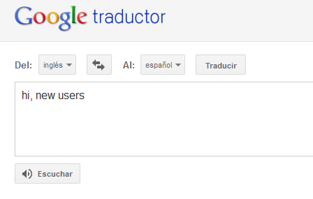 Google Translate para Android 1
