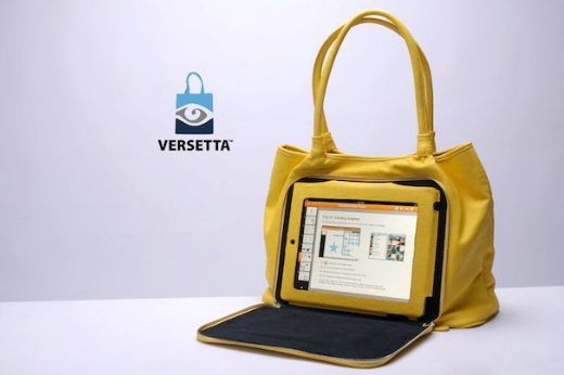 Versetta, maletín con funda para iPad incorporada 2