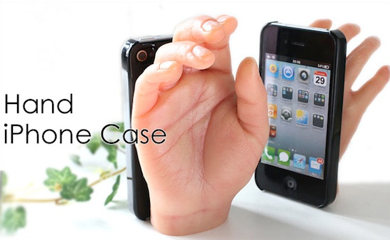 Las funda más extraña para iPhone 4 1