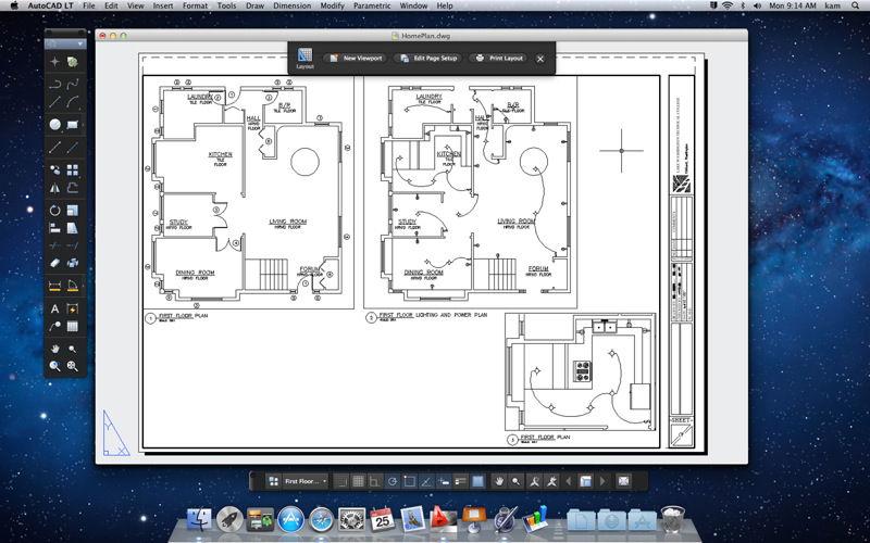 AutoCAD LT 2012 para Mac ya esta disponible 1