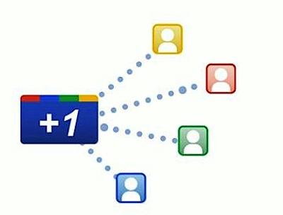 El botón Google+1 ahora tiene más integración con la red social Google+ 2