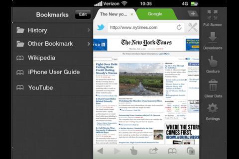 Dolphin Browser, el navegador más famoso de Android, da el salto a iOS 2