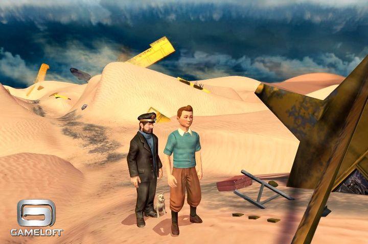 Gameloft muestra las primeras imágenes del juego para iOS de las aventuras de  Tintín 2