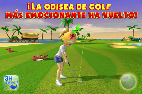 Disponible en la App Store Let's Golf 3 de Gameloft