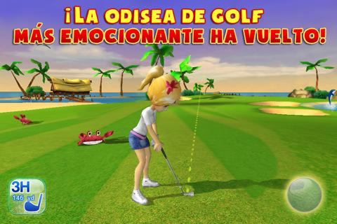 Disponible en la App Store Let's Golf 3 de Gameloft