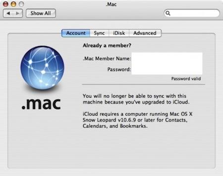 Snow Leopard 10.6.9 tendrá soporte para iCloud 1