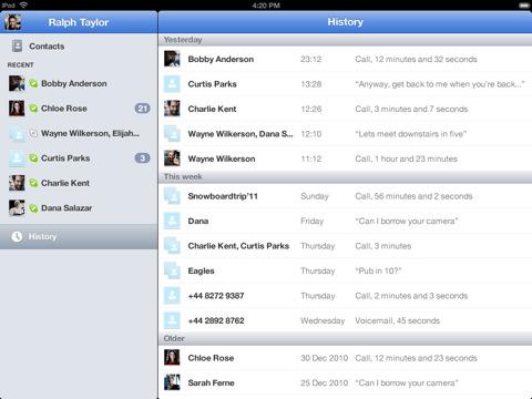 Skype para iPad hace magia, llega y desaparece de la App Store 1