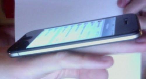 ¿Imagen del posible iPhone 5 o un buen montaje en Photoshop? 2