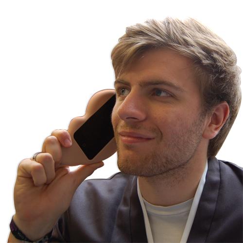 ¿Se acuerdan de la funda para iPhone con forma de mano? Ahora llego la oreja 4